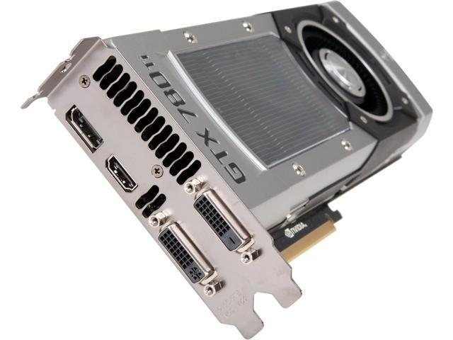 EVGA 03G-P4-2881-KR G-SYNC Support GeForce GTX 780 Ti 3GB 384-Bit GDDR5 PCI Express 3.0 SLI Support Video Card