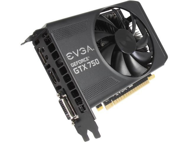 EVGA 01G-P4-2751-KR G-SYNC Support GeForce GTX 750 1GB 128-Bit GDDR5 PCI Express 3.0 Video Card