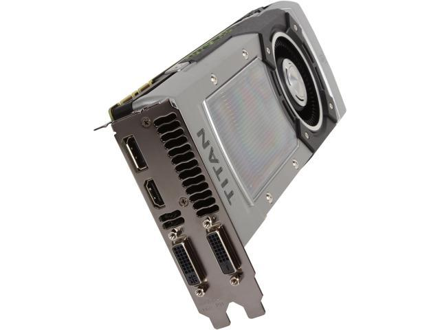 EVGA 06G-P4-3791-KR G-SYNC Support GeForce GTX TITAN BLACK Superclocked 6GB 384-Bit GDDR5 PCI Express 3.0 SLI Support Video Card