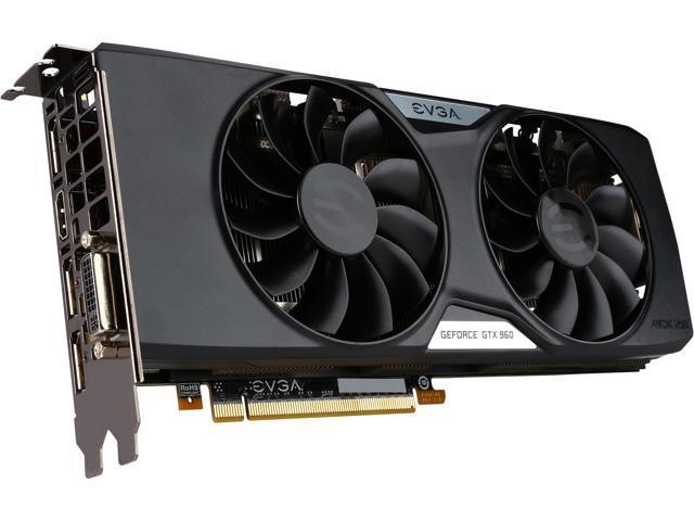 EVGA GeForce GTX 960 04G-P4-3966-KR 4GB 128-Bit GDDR5 PCI Express 3.0 x16 SLI Support SuperSC ACX 2.0+ Video Card (Mail In Rebate $20.0 Expires ...