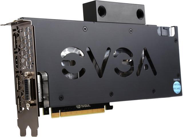 EVGA 12G-P4-2999-KR GTX TITAN X Hydro Copper 12GB 384-Bit GDDR5 PCI Express 3.0 x16 HDCP Ready SLI Support G-SYNC Ready Graphics Card