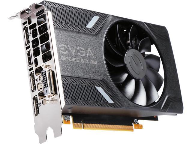 EVGA GeForce GTX 1060 GAMING, ACX 2.0 (Single Fan), 03G-P4-6160-KR, 3GB GDDR5, D | eBay