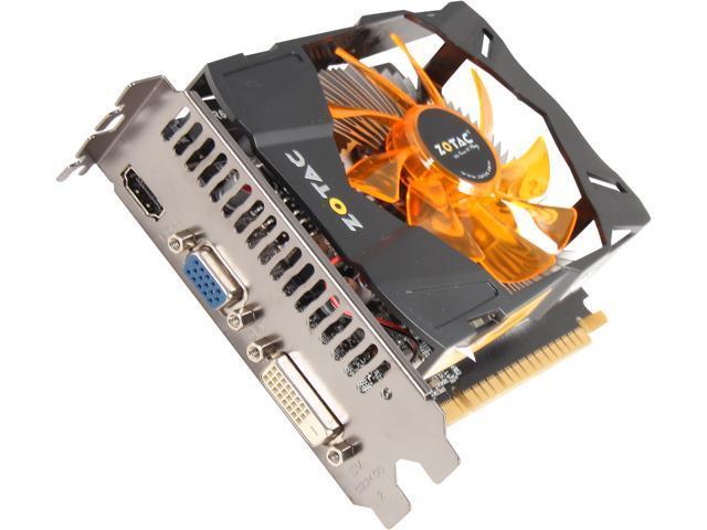 ZOTAC ZT-61012-10M GeForce GTX 650 1GB 128-Bit GDDR5 PCI Express 3.0 x16 HDCP Ready Video Card
