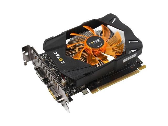 Zotac ZT-70704-10M G-SYNC Support GeForce GTX 750 Graphic Card - 1033 MHz Core - 2 GB GDDR5 SDRAM - PCI Express 3.0 x16
