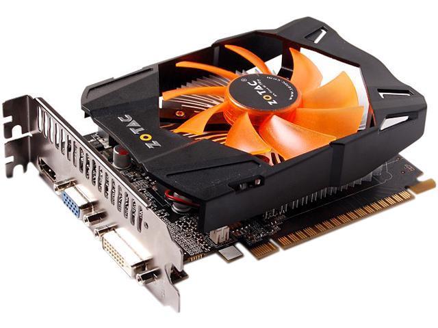 ZOTAC ZT-61013-10M GeForce GTX 650 2GB 128-Bit GDDR5 PCI Express 3.0 x16 HDCP Ready Video Card