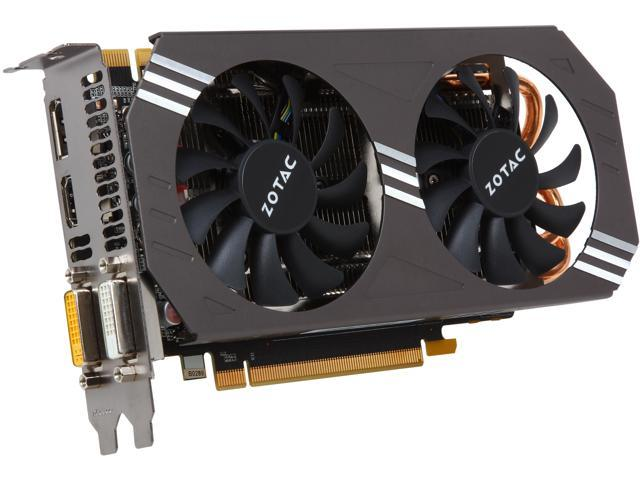ZOTAC ZT-90101-10P GeForce GTX 970 4GB 256-Bit DDR5 PCI Express 3.0 x16 HDCP Ready SLI Support G-SYNC Support Video Card