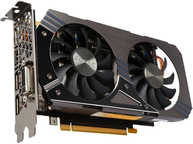 ZOTAC ZT-90301-10M GeForce GTX 960 2GB 128-Bit DDR5 HDCP Ready SLI Support Video Card