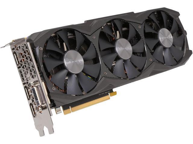 ZOTAC ZT-90107-10P GeForce GTX 970 4GB 256-Bit GDDR5 PCI Express 3.0 x16 SLI Support AMP! Extreme Core Edition Video Card