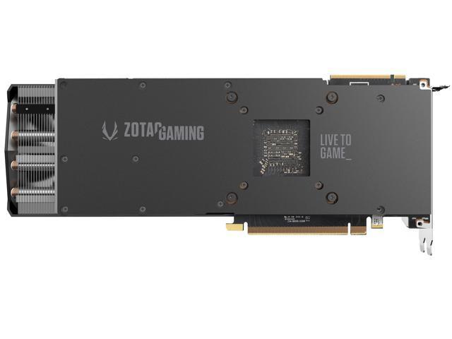 ZOTAC GAMING GeForce RTX 2080 AMP 8GB GDDR6 256-bit Gaming Graphics Card, Active