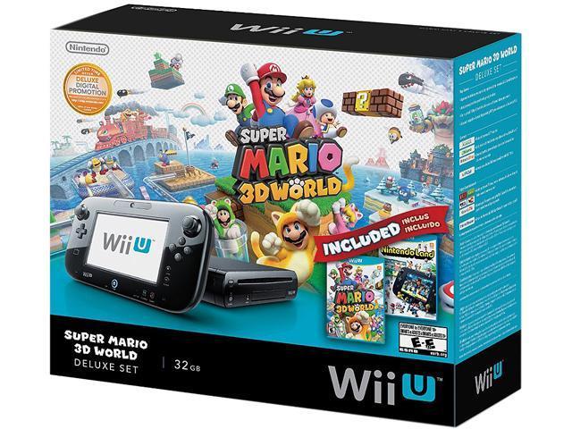 Super Mario 3D World Delux Wii U