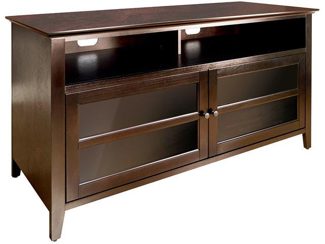 """Bell'O WAVS99152 Wood Cabinet for Audio Video Systems for 55"""" TV, max load 125lbs"""