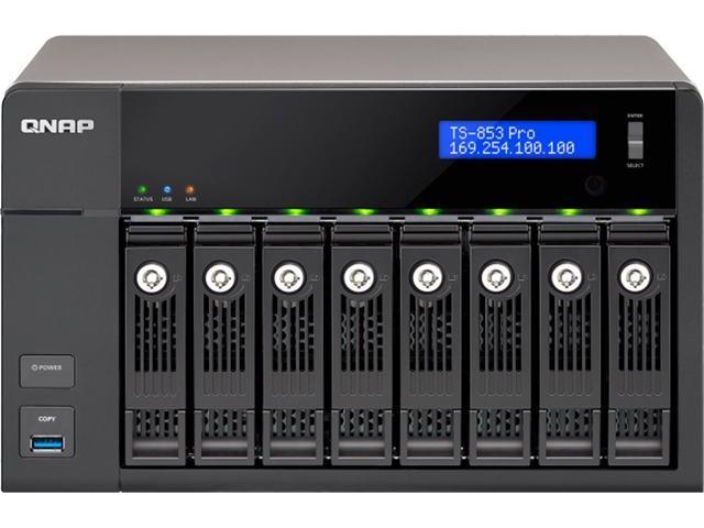 QNAP Turbo NAS TS-853 Pro-8G NAS Server