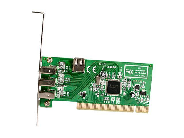 StarTech 4 port PCI 1394a FireWire Adapter Card Model PCI1394MP
