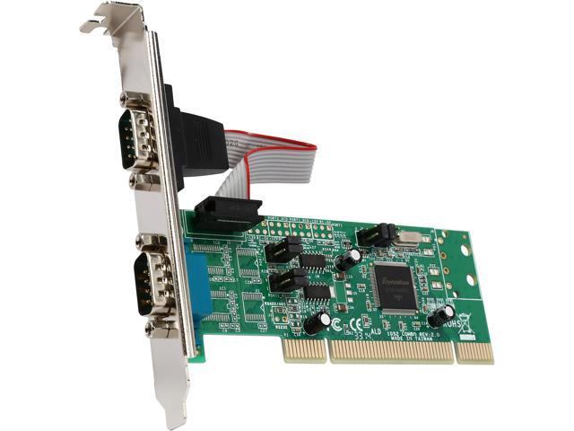 StarTech 2 Port PCI RS422/485 Serial Adapter Card with 161050 UART Model PCI2S4851050