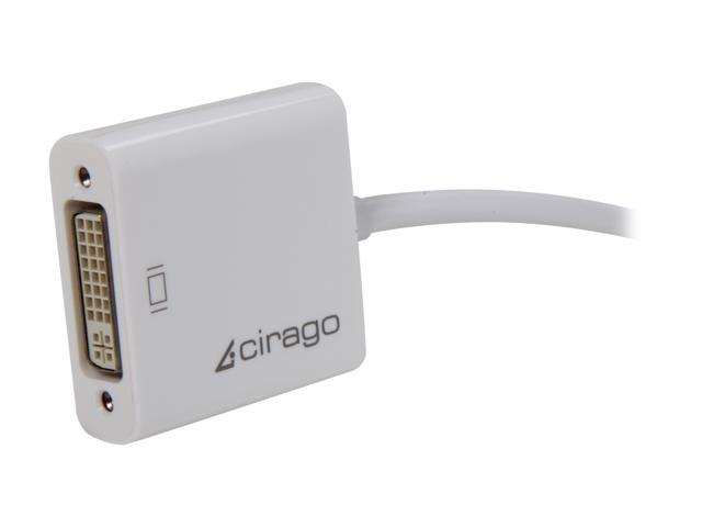 Cirago DPN2022 Mini DisplayPort to DVI Single Link Adapter