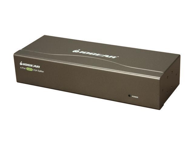 IOGEAR 4-Port VGA CAT5e/6 Audio/Video Splitter GVS144TX
