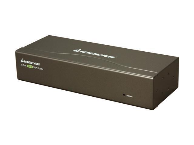 IOGEAR 8-Port VGA CAT5e/6 Audio/Video Splitter GVS148TX