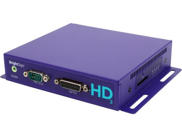 Brightsign HD1022 Network Multi-Control Interactive Media Player