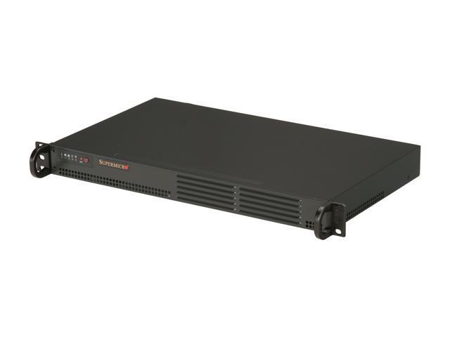 SUPERMICRO SYS-5015A-PHF 1U Intel Atom D510 Dual Gigabit LAN w/ IPMI Server Barebone