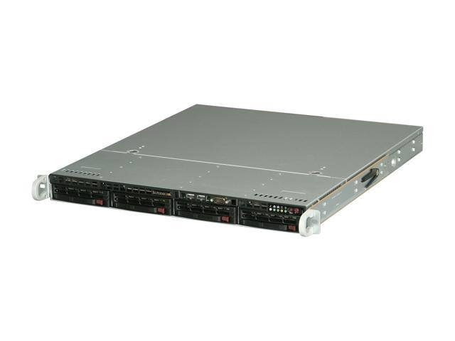 SUPERMICRO SYS-5017R-MTF 1U Rackmount Server Barebone LGA 2011 Intel C602 DDR3 1600/1333/1066