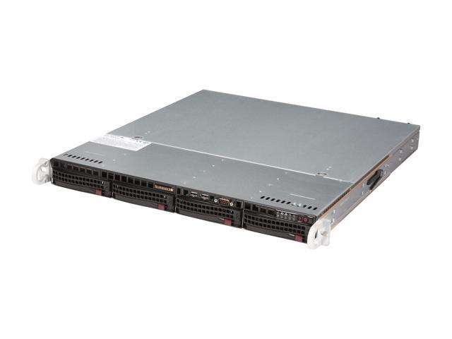 SUPERMICRO SYS-5017R-MTRF 1U Rackmount Server Barebone LGA 2011 Intel C602 DDR3 1600/1333/1066