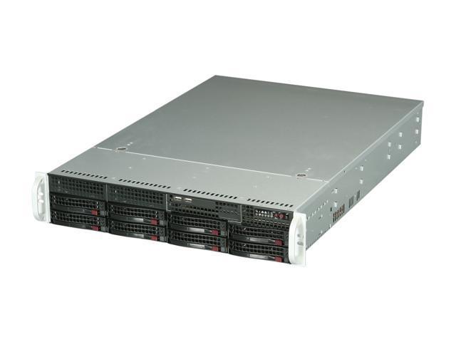 SUPERMICRO SYS-5027R-WRF 2U Rackmount Server Barebone LGA 2011 Intel C602 DDR3 1600/1333/1066