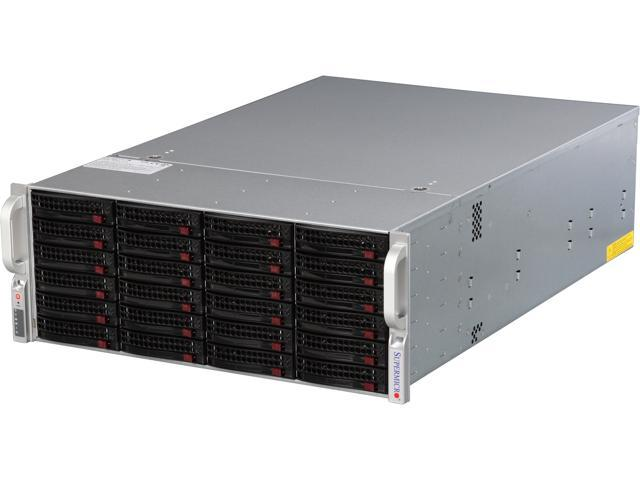 SUPERMICRO SSG-6047R-E1R24N 4U Rackmount Server Barebone Dual LGA 2011 Intel C602 DDR3 1600/1333/1066/800