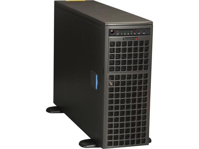 SUPERMICRO SYS-7047GR-TRF 4U Rackmountable / Tower Server Barebone Dual LGA 2011 Intel C602 DDR3 1600/1333/1066/800