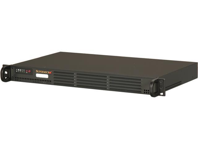 SUPERMICRO SYS-5017A-EP 1U Rackmount Server Barebone FCBGA559 Intel NM10 Express Chipset DDR3 1066
