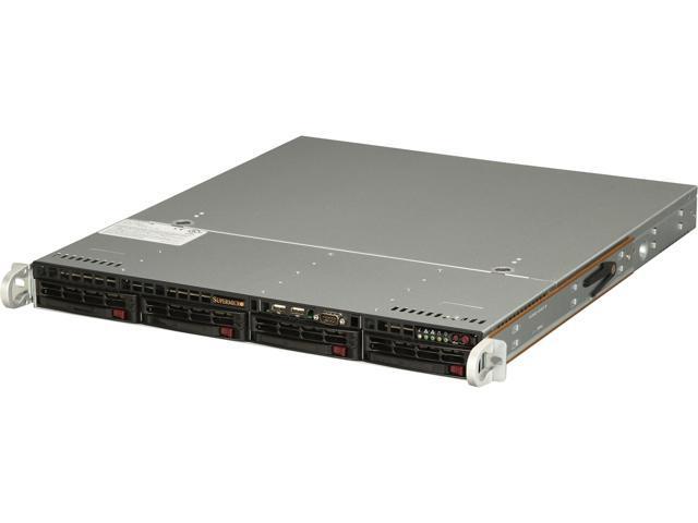 SUPERMICRO SYS-5018D-MTF 1U Rackmount Server Barebone LGA 1150 Intel C224 Express PCH DDR3 1600