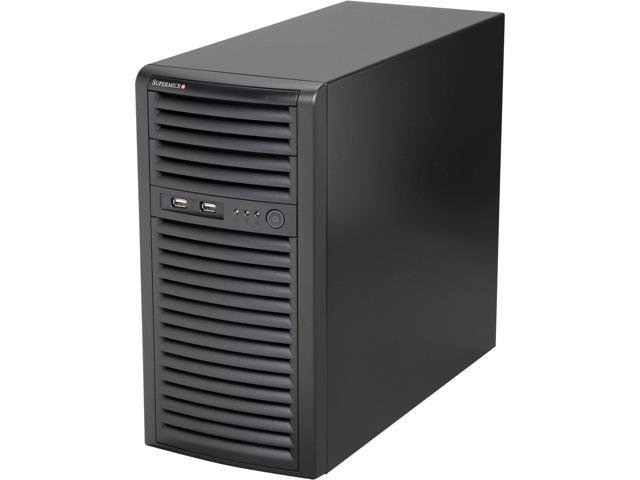 SUPERMICRO SYS-5038D-I Mid-Tower Server Barebone LGA 1150 Intel C222 DDR3 1600