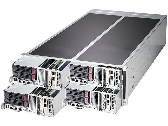 SUPERMICRO SYS-F627G3-F73PT+ 4U Rackmount Server Barebone Dual LGA 2011 Intel C602 DDR3 1866/1600/1333/1066/800