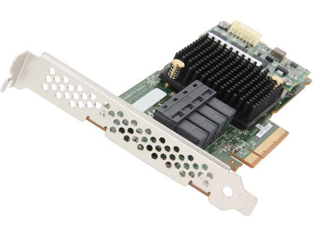 Adaptec 2274600-R 71605QSingle PCI-Express 3.0 x8 SAS Controller Card