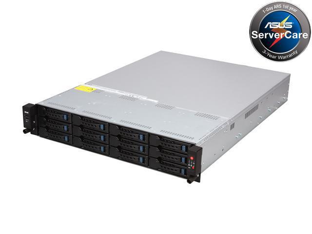 ASUS RS720-E7/RS12-E 2U Rackmount Server Barebone Dual LGA 2011 Intel C602-A PCH DDR3 1600/1333/1066/800