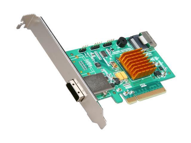 HighPoint RocketRAID 2721 PCI-Express 2.0 x8 Low Profile SATA / SAS Controller Card