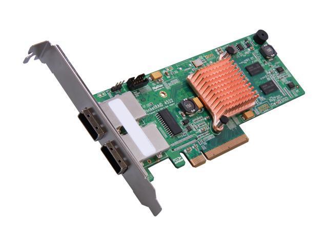 HighPoint RocketRAID 4522 SAS/SATA 6Gb/s Low Profile Ready SATA / SAS RAID Controller Card