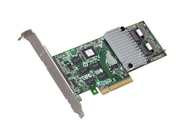 3ware Internal 9750-8i SATA/SAS 6Gb/s PCI-Express 2.0 w/ 512MB onboard memory Controller Card, Single