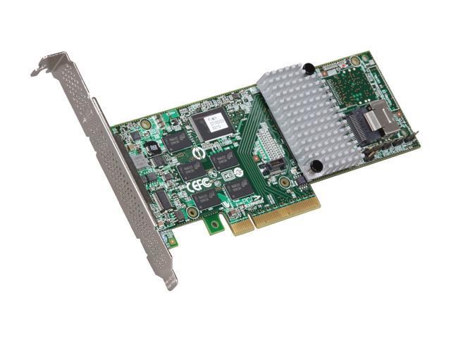 3ware Internal 9750-4i SATA/SAS 6Gb/s PCI-Express 2.0 w/ 512MB onboard memory Controller Card, Single