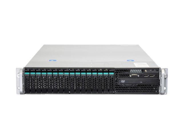 Intel H2216JFJR 2U Rack Server Barebone (Four nodes) Dual LGA 2011 DDR3 1600/1333/1066