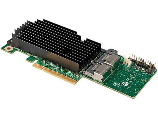 Intel RMS25PB080 PCI-Express 2.0 x8 Low Profile Ready SATA / SAS Integrated RAID Module