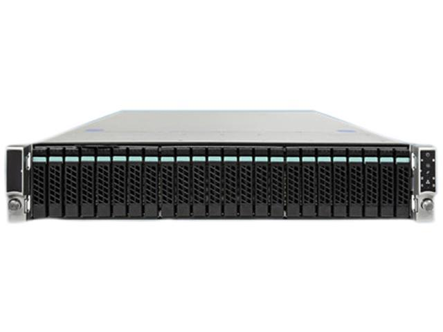 Intel R2224GZ4GC4 2U Rack Server Barebone Dual LGA 2011 Intel C602 DDR3 1600