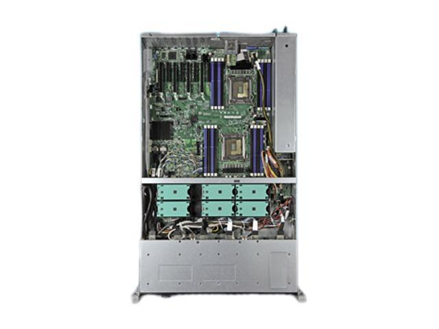Intel R2224IP4LHPC 2U Rack Server Barebone Dual LGA 2011 Intel C602 DDR3 1600/1333