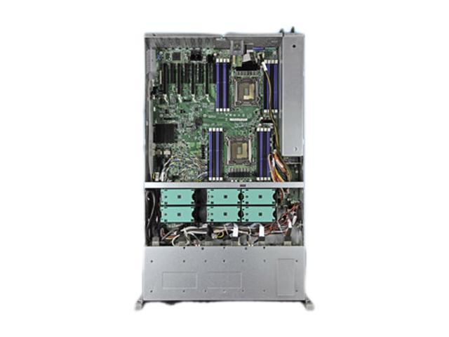 Intel R2308IP4LHPC 2U Rack Server Barebone Dual LGA 2011 Intel C602 DDR3 1600/1333/1066