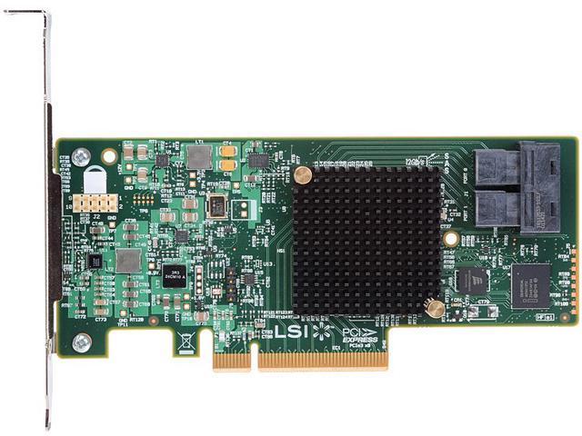 Intel RS3UC080 PCI-Express 3.0 x8 Low Profile Ready SATA / SAS RAID Controller Card