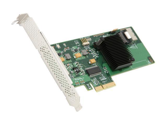 LSI Internal SATA/SAS 9211-4i 6Gb/s PCI-Express 2.0 RAID Controller Card, Single