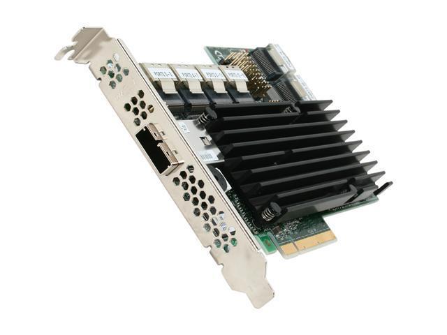 LSI MegaRAID 9280-24i4e SATA/SAS 6Gb/s PCIe 2.0 w/ 512MB onboard memory controller card, Single--Avago Technologies