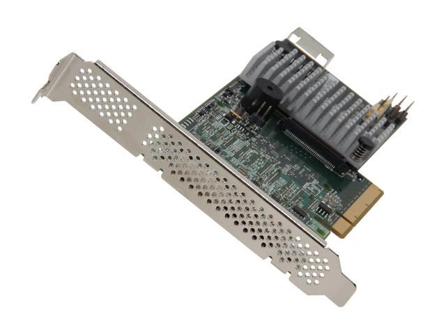 LSI MegaRAID LSI00305 (9266-4i SGL) PCI-Express 2.0 x8 Low Profile SATA / SAS RAID Controller - Single--Avago Technologies