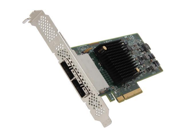 LSI LSI00300 (9207-8e) PCI-Express 3.0 x8 Low Profile SATA / SAS Host Controller Card