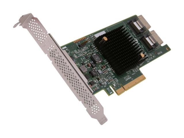 LSI LSI00302 (9207-8i Kit) PCI-Express 3.0 x8 Low Profile SATA / SAS Host Controller Card - Kit