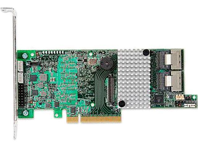 LSI MegaRAID LSI00334 (9271-8iCC) PCI-Express 3.0 x8 Low Profile SATA / SAS RAID Controller - Single--Avago Technologies